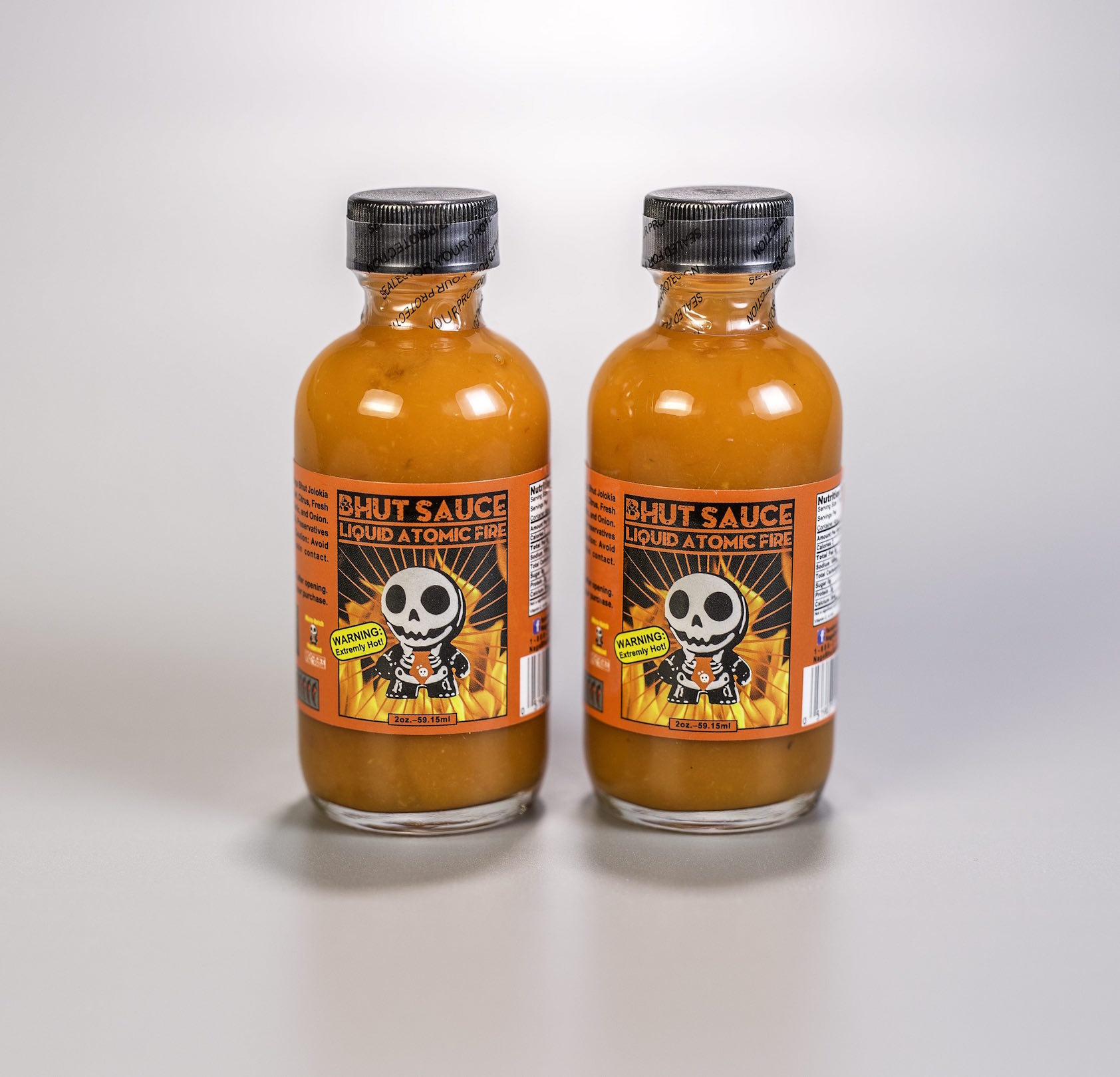 Bhut Sauce 2 OZ Twin Pack